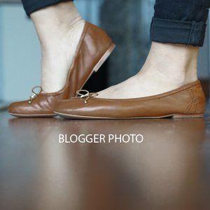 Sam Edelman Felicia Ballet Flats Saddle Brown 8.5